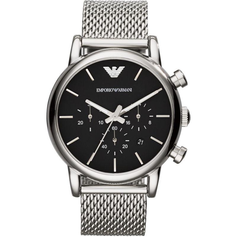 Herren Emporio Armani Chronograph Watch AR1811