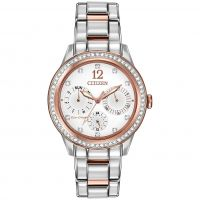 femme Citizen Silhouette Crystal Watch FD2016-51A