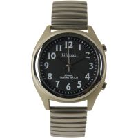 Herren Lifemax RNIB Talking Atomic Uhr