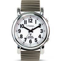 Herren Lifemax RNIB Solar Talking Atomic Solar Powered Watch 430.1E