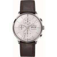 Herren Junghans Meister Chronoscope Chronograph Watch 027/4120.00