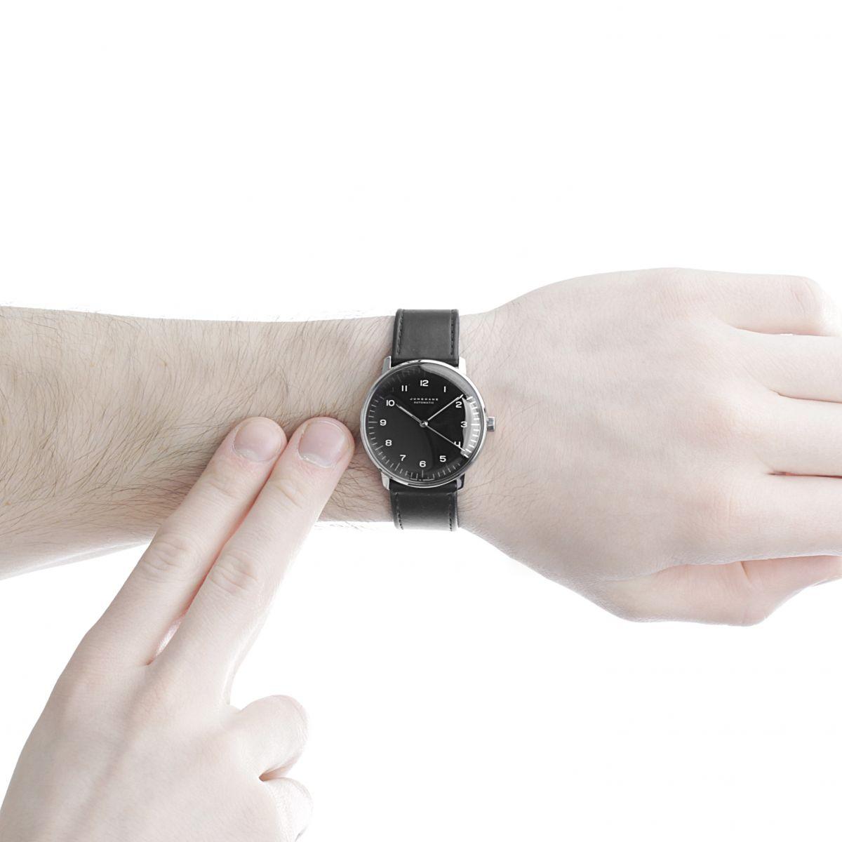 gents junghans max bill watch 027. Black Bedroom Furniture Sets. Home Design Ideas