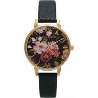 Damen Olivia Burton Winter Garten geblümt Uhren