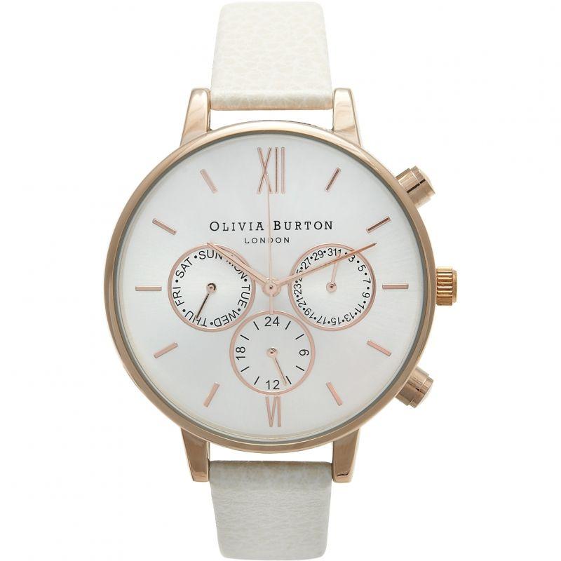 Damen Olivia Burton Chrono Detail Watch OB13CG01C