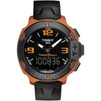 homme Tissot T-Race Touch Alarm Chronograph Watch T0814209705703