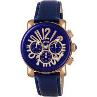 Damen Pocket-Watch Rond Chrono Medio Chronograf Uhr