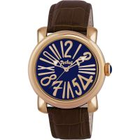 Pocket-Watch Rond Grande Herrklocka Brun PK3004