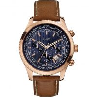 Guess Pursuit Herenchronograaf Bruin W0500G1