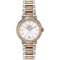 Damen Rotary Schweizer hergestellt Lucerne mittelgroß Quarz Uhr