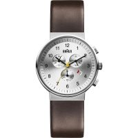 Mens Braun BN0035 Classic Chronograph Watch BN0035SLBRG