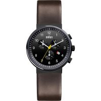Herren Braun Chronograf Uhr