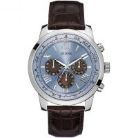 Guess Horizon Herenchronograaf Bruin W0380G6