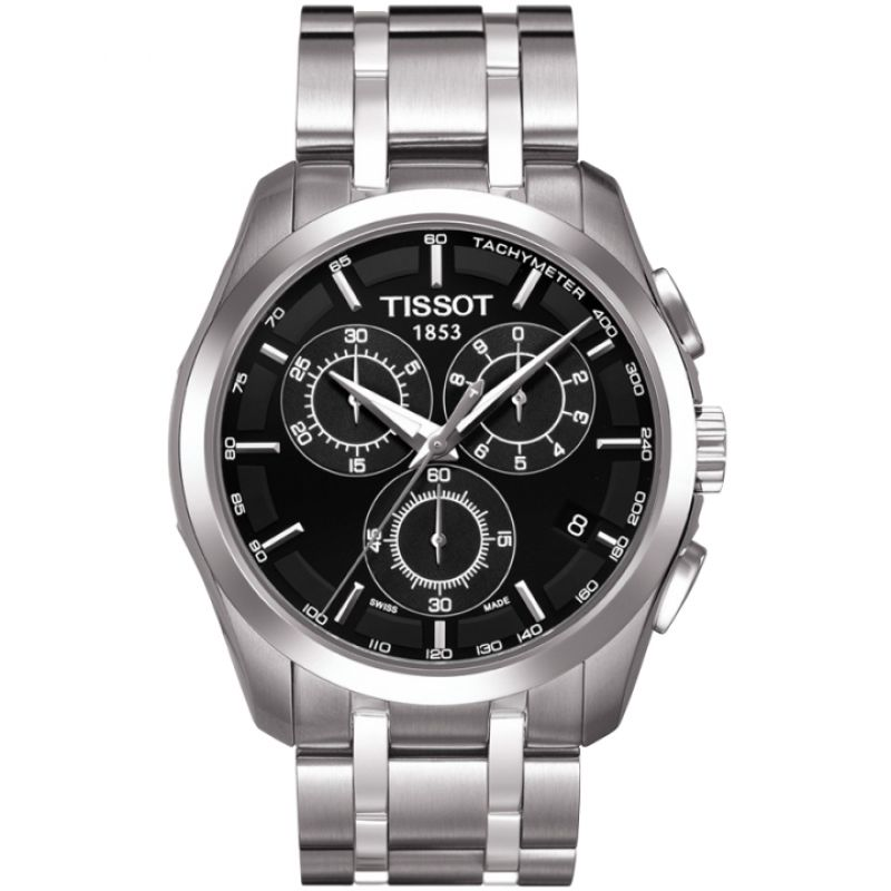 Mens Tissot Couturier Chronograph Watch T0356171105100