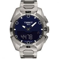 Mens Tissot T-Touch Expert Solar Titanium Chronograph Solar Powered Watch T0914204404100