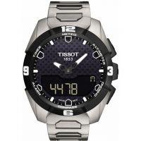 Herren Tissot T-Touch solar Titan Wecker Chronograf solarbetrieben Uhr