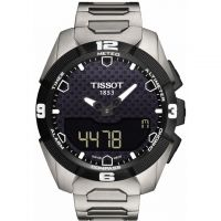 Herren Tissot T-Touch Expert Solar Alarm Chronograph Solar Powered Watch T0914204405100