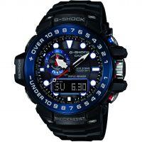 homme Casio G-Shock Premium Gulfmaster Alarm Chronograph Radio Controlled Tough Solar Watch GWN-1000B-1BER