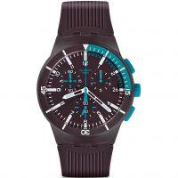 homme Swatch Chronoplastic - Purple Power Chronograph Watch SUSV400