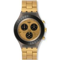 unisexe Swatch Diaphane - Desert Sands Chronograph Watch SVCM4010AG
