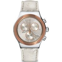 Unisex Swatch Irony Chrono - Albinostrich Chronograph Watch