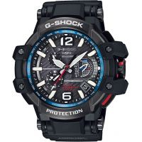 Mens Casio Premium G-Shock Gravitymaster GPS Hybrid Alarm Chronograph Radio Controlled Solar Powered Watch