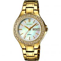 Damen Casio Sheen Watch SHE-4800G-7AUER