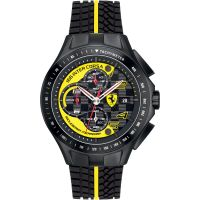 Herren Scuderia Ferrari Race Tag Chronograf Uhr