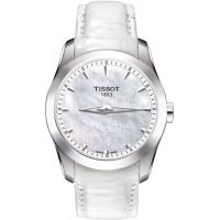 Ladies Tissot Couturier Secret Date Watch T0352461611100