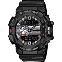 homme Casio G-Shock G'MIX Bluetooth Hybrid Smartwatch Alarm Chronograph Watch GBA-400-1AER