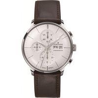 Herren Junghans Meister Chronoscope Chronograph Watch 027/4120.01