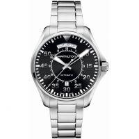 Mens Hamilton Khaki Pilot Day Date Automatic Watch