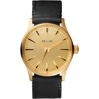 Herren Nixon The Sentry 38 Leder Uhr