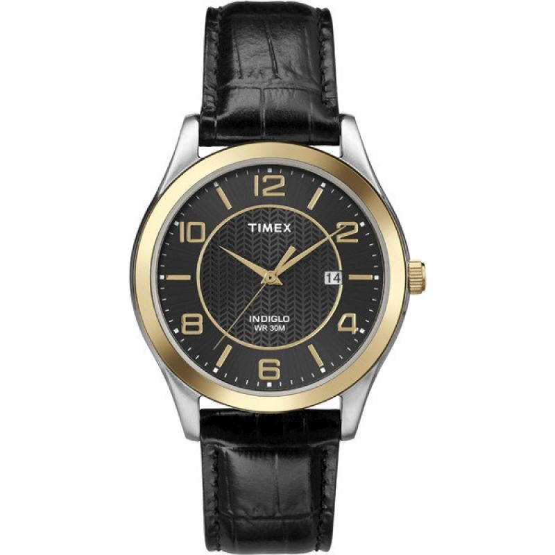 Mens Timex Indiglo Main Street Watch T2P450