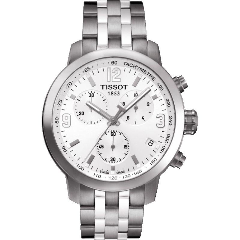 Herren Tissot PRC200 Chronograph Watch T0554171101700