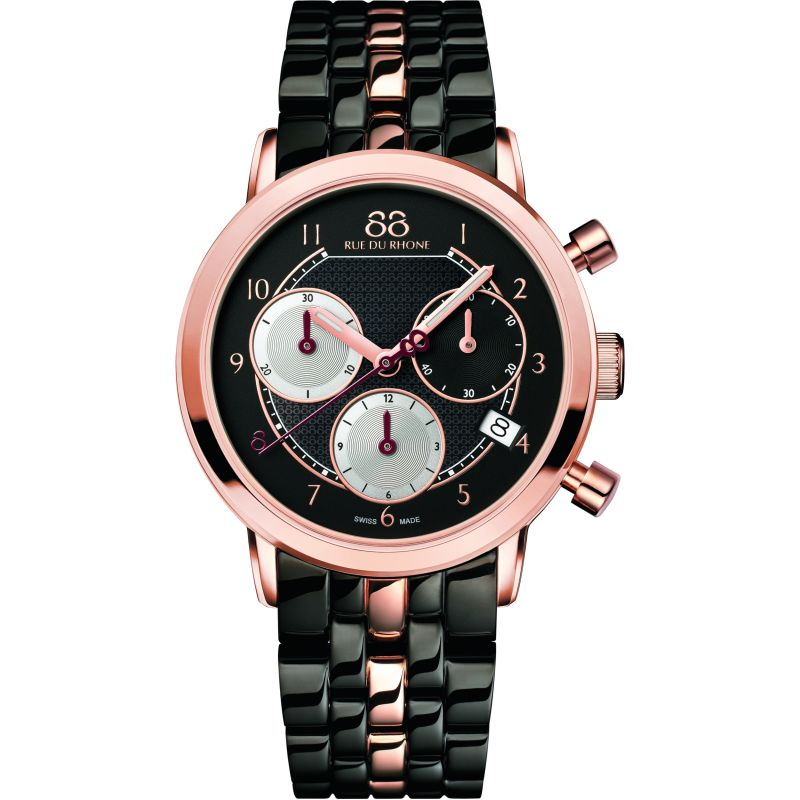 Ladies 88 Rue Du Rhone Double 8 Origin 35mm Chronograph Watch 87WA143507