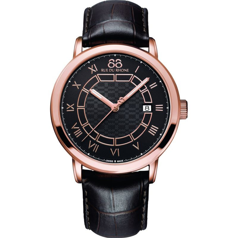 Mens 88 Rue Du Rhone Double 8 Origin 42mm Watch 87WA144205