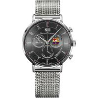 Maurice Lacroix Eliros FC Barcelona Special Edition Herenchronograaf Zilver EL1088-SS002-320-001