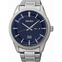 Herren Seiko Solar Powered Watch SNE361P1