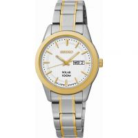 Ladies Seiko Dress Solar Powered Watch SUT162P1