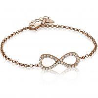 Ladies Zinzi Sterling Silver Bracelet ZIA1065R