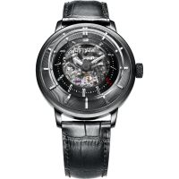 Mens FIYTA 3D Time Skeleton Limited Edition Automatic Watch GA8606.BBB