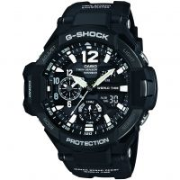 homme Casio G-Shock Gravitymaster Compass Thermometer Alarm Chronograph Watch GA-1100-1AER