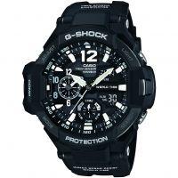 Herren Casio G-Shock Gravitymaster Kompass Thermometer Wecker Chronograf Uhr