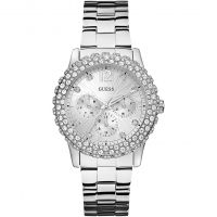 Damen Guess Dazzler Watch W0335L1