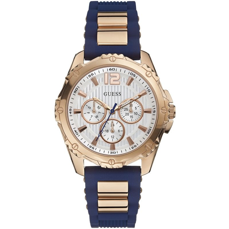 Guess Intrepid 2 Dameshorloge Blauw W0325L8