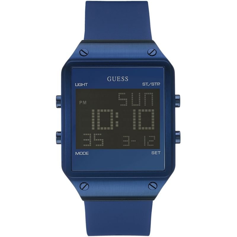 Mens Guess Radar Alarm Chronograph Watch W0595G2