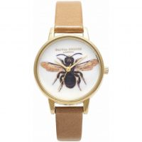 Ladies Olivia Burton Woodland Bee Print Watch