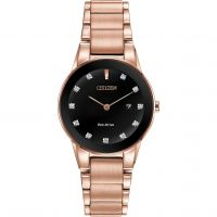 femme Citizen Axiom Diamond Watch GA1058-59Q