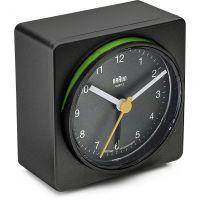 Wanduhr Braun Clocks BNC011 Classic Bedside Alarm BNC011BKBK