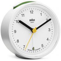 Wanduhr Braun Clocks BNC012 Classic Bedside Alarm BNC012WHWH